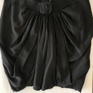 Isabel Marant Silk Draped Skirt Grecian Knot